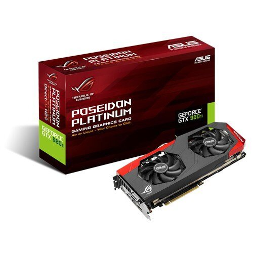 ASUS ROG Poseidon GeForce GTX 980Ti Graphics Card