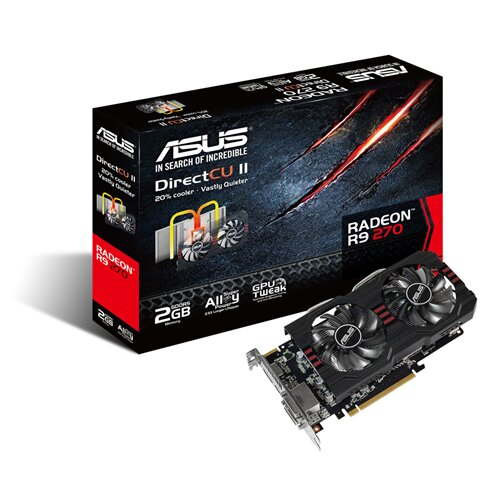 ASUS R9270-DC2-2GD5 Graphics Card