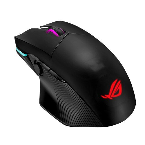 ASUS ROG Chakram Wireless Gaming Mouse With Qi Charging