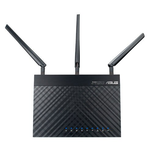 ASUS RT-AC66R 802.11ac Dual-Band Wireless-AC1750 Gigabit Router