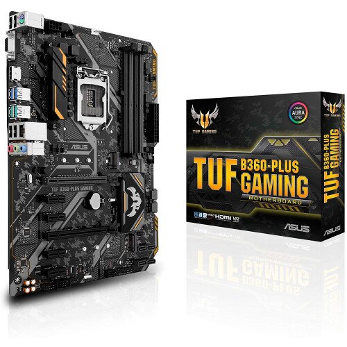ASUS TUF B360-Plus Gaming Motherboard