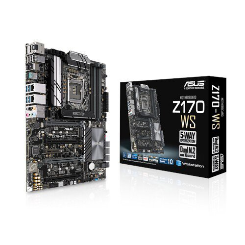 ASUS Z170-WS Motherboard