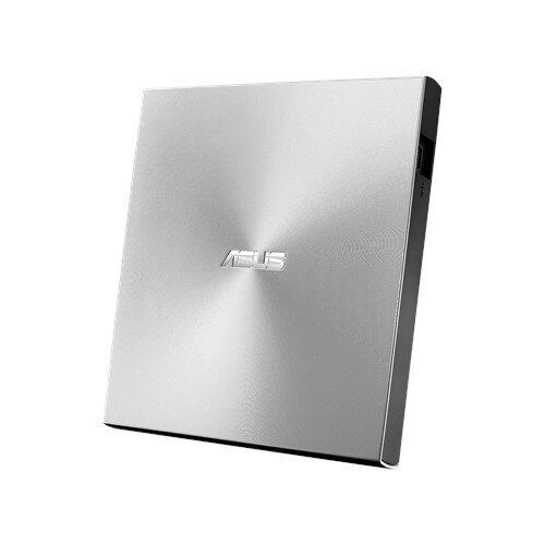 ASUS ZenDrive Slim External DVD Burner Optical Disc 8x Speed Re-Writer Drive - Silver