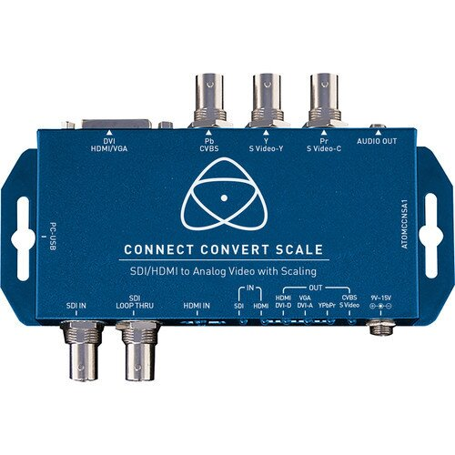 Atomos Connect Convert D/A Cross Scale Repeat SDI/HDMI to Analog
