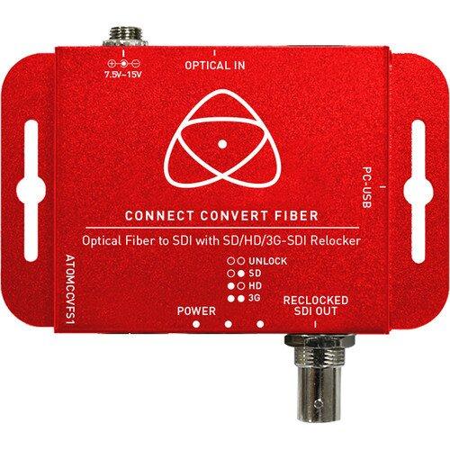 Atomos Connect Convert Fiber to SDI