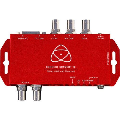Atomos Connect Convert Repeat SDI to HDMI/SDI - Overlay, Audio/TC/SAFE