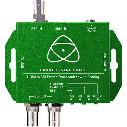 Atomos Connect Convert Sync Scale Split HDMI to SDI/SDI - Genlock