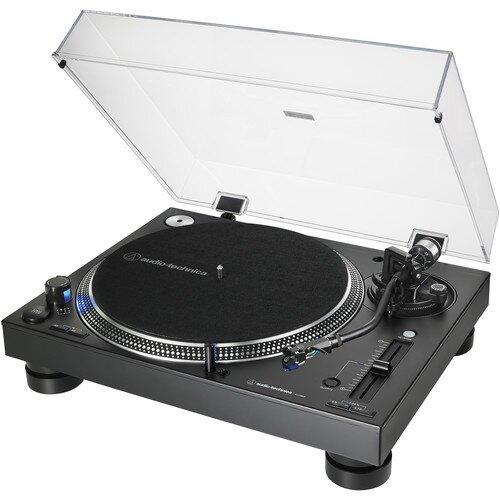 Audio-Technica AT-LP140XP Direct-Drive Professional DJ Turntable - Black