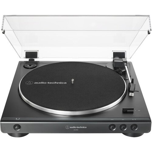 Audio-Technica AT-LP60X Fully Automatic Belt-Drive Turntable - Black