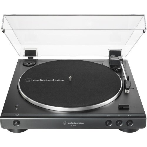Audio-Technica AT-LP60XBT Fully Automatic Wireless Belt-Drive Turntable - Black
