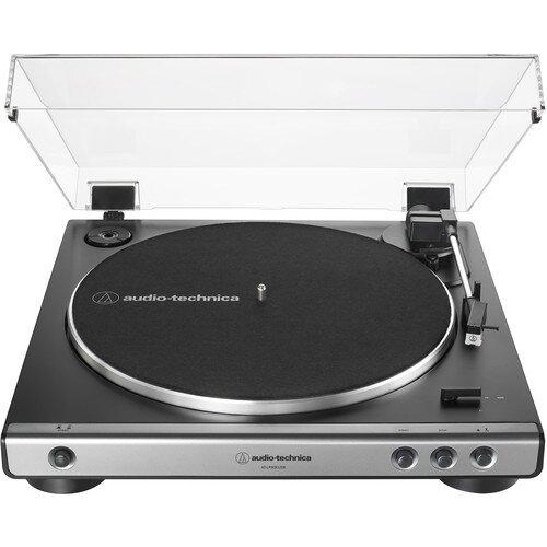 Audio-Technica AT-LP60XUSB Fully Automatic Belt-Drive Turntable (USB & Analog) - Gunmetal