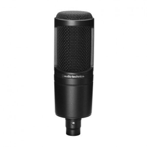 Audio-Technica AT2020 Cardioid Condenser Microphone - Black
