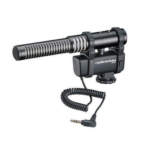 Audio-Technica AT8024 Stereo/Mono Camera-Mount Microphone