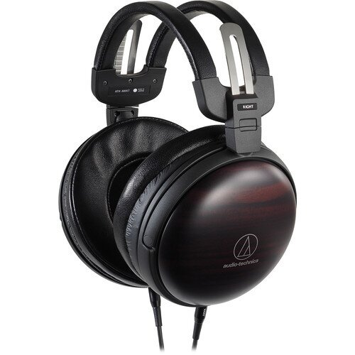 Audio-Technica ATH-AWKT Audiophile Closed-back Dynamic Wooden Headphones