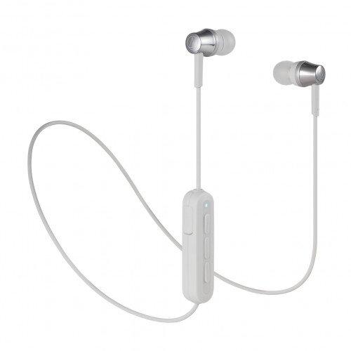 Audio-Technica ATH-CKR300BT Wireless In-Ear Headphones - Gray