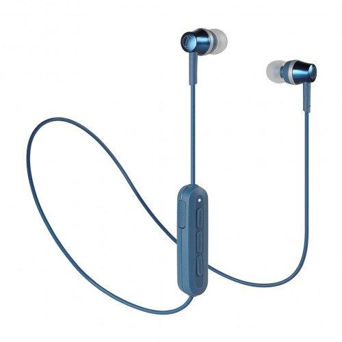 Audio-Technica ATH-CKR300BT Wireless In-Ear Headphones - Blue