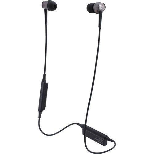 Audio-Technica ATH-CKR55BT Sound Reality Wireless In-Ear Headphones - Black