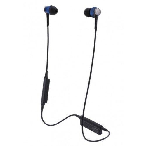 Audio-Technica ATH-CKR55BT Sound Reality Wireless In-Ear Headphones - Blue