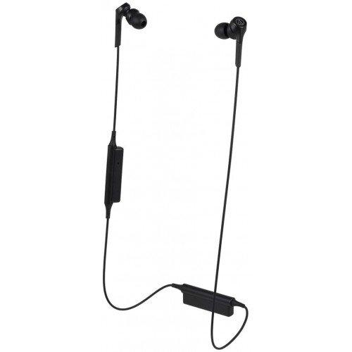 Audio-Technica ATH-CKS550XBT Solid Bass Wireless In-Ear Headphones - Black
