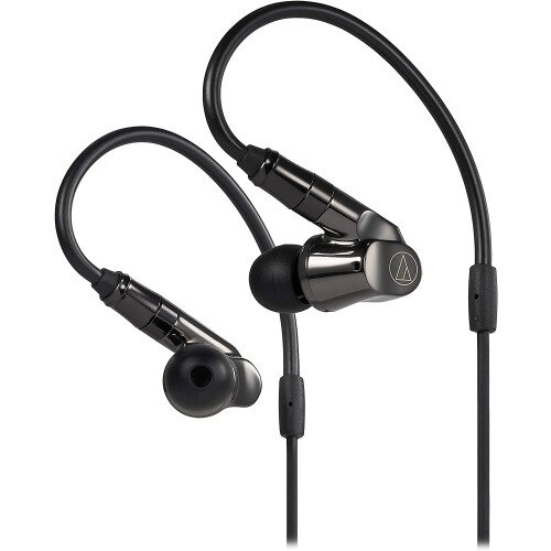 Audio-Technica ATH-IEX1 In-Ear Hybrid Multidriver Headphones