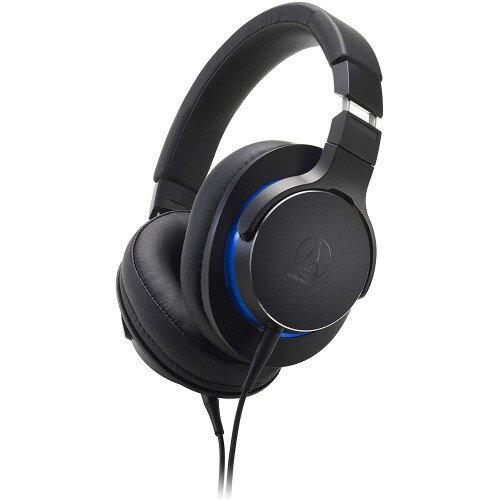 Audio-Technica ATH-MSR7b Over-Ear High-Resolution Headphones - Black