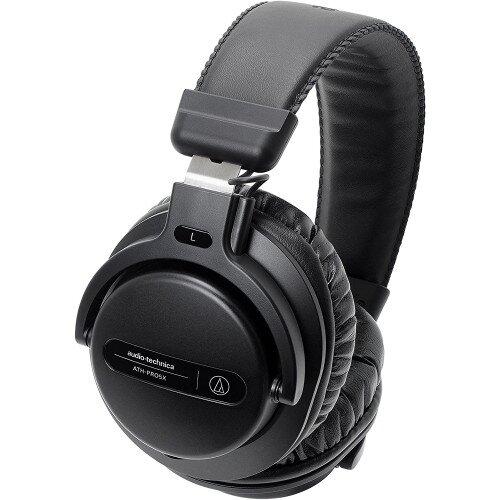 Audio-Technica ATH-PRO5X Professional Over-Ear DJ Monitor Headphones - Black