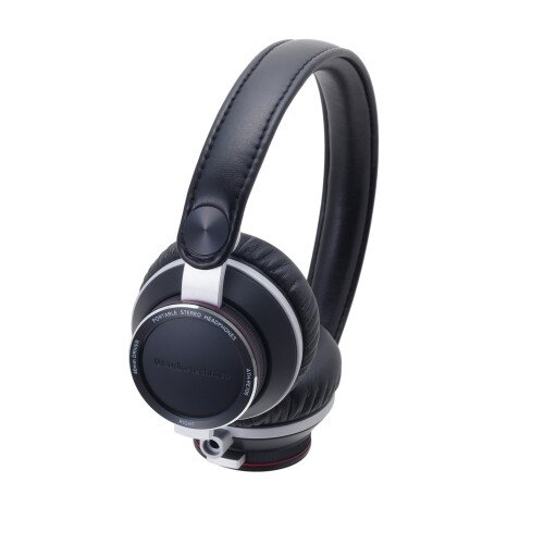 Audio-Technica ATH-RE700 High-Fidelity Audiophile On-Ear Headphones - Black