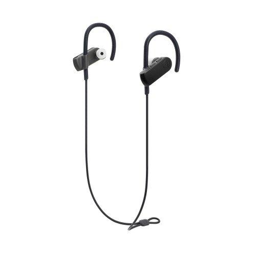 Audio-Technica ATH-SPORT50BT SonicSport Wireless In-Ear Headphones - Black