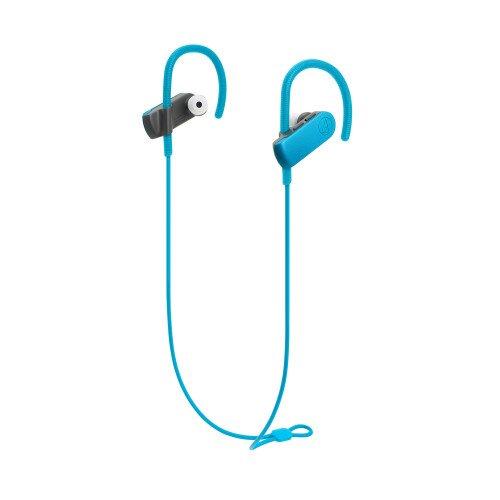 Audio-Technica ATH-SPORT50BT SonicSport Wireless In-Ear Headphones - Blue