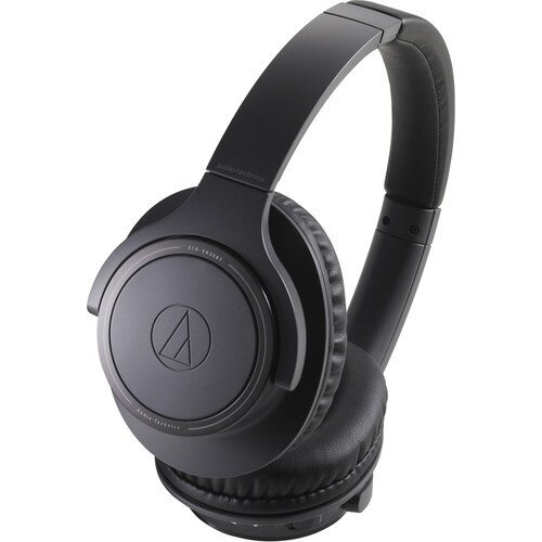 Audio-Technica ATH-SR30BT Wireless Over-Ear Headphones - Black