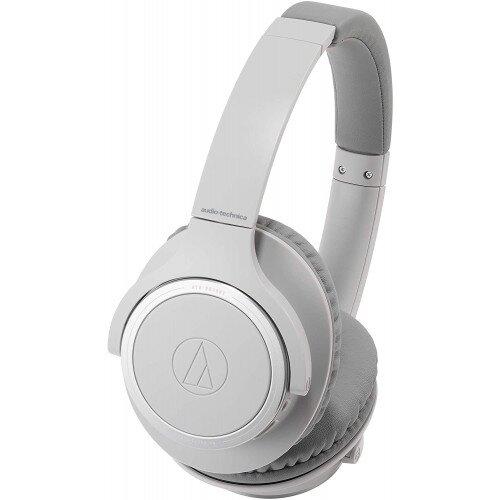 Audio-Technica ATH-SR30BT Wireless Over-Ear Headphones - Gray