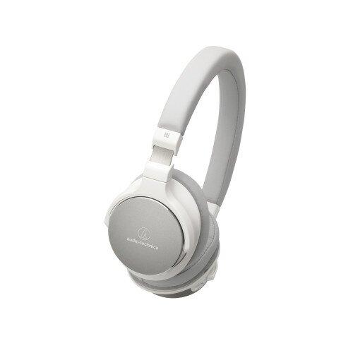Audio-Technica ATH-SR5BT Wireless On-Ear High-Resolution Headphones - White