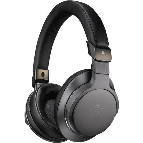 Audio-Technica ATH-SR6BTBK Wireless Over-Ear High-Resolution Headphones