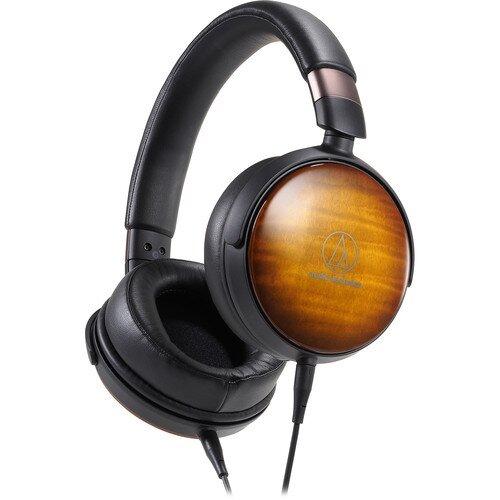 Audio-Technica ATH-WP900 Portable Over-Ear Wooden Headphones