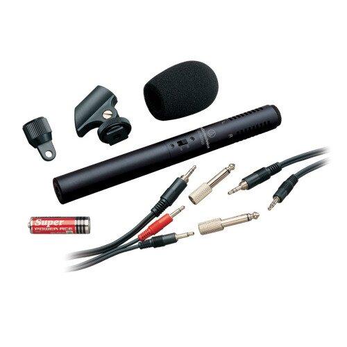 Audio-Technica ATR6250 Stereo Condenser Video/Recording Microphone