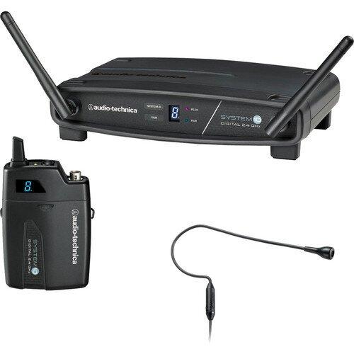 Audio-Technica ATW-1101/H92 System 10 Stack-Mount Digital Wireless System - Black