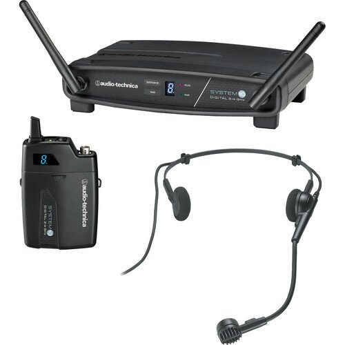 Audio-Technica ATW-1101/H System 10 Stack-Mount Digital Wireless System