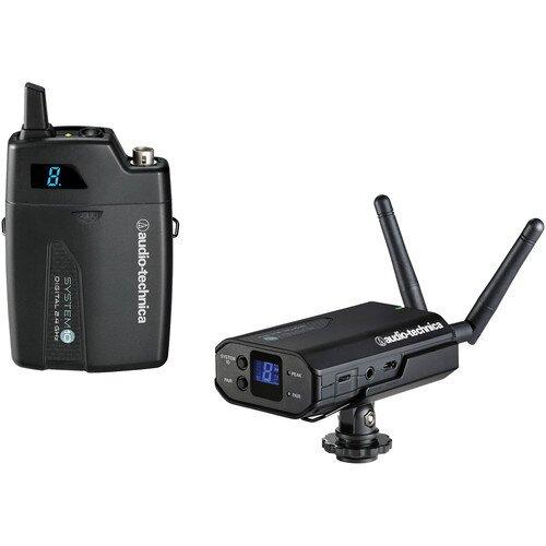 Audio-Technica ATW-1701 System 10 Camera-Mount Portable Camera-Mount Digital Wireless System