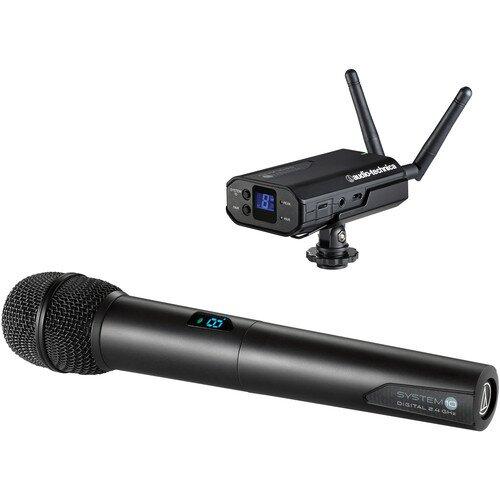 Audio-Technica ATW-1702 System 10 Camera-Mount Portable Camera-Mount Digital Wireless System