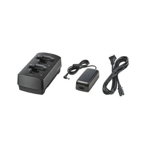 Audio-Technica ATW-CHG3AD Two-Bay Charging Station with AC Adapter (3000 Series)