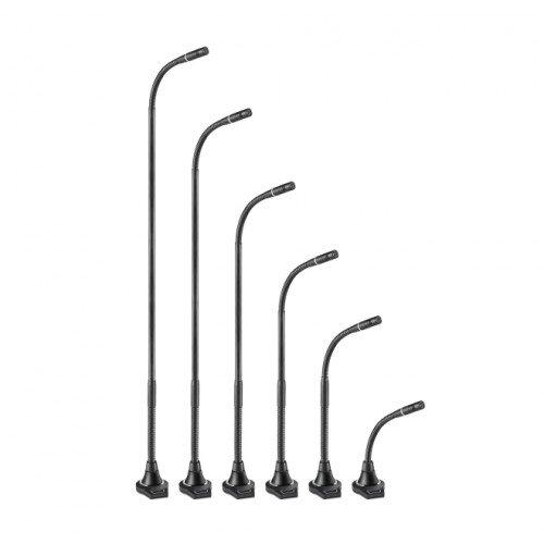 Audio-Technica ES925C/FM3 Cardioid Condenser Gooseneck Microphone with 3-Pin Flush-Mount Power Module