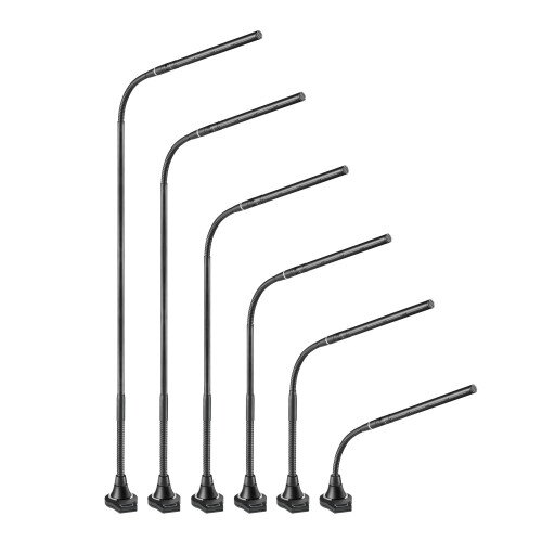 Audio-Technica ES925ML/FM3 MicroLine Condenser Gooseneck Microphone with 3-Pin Flush-Mount Power Module