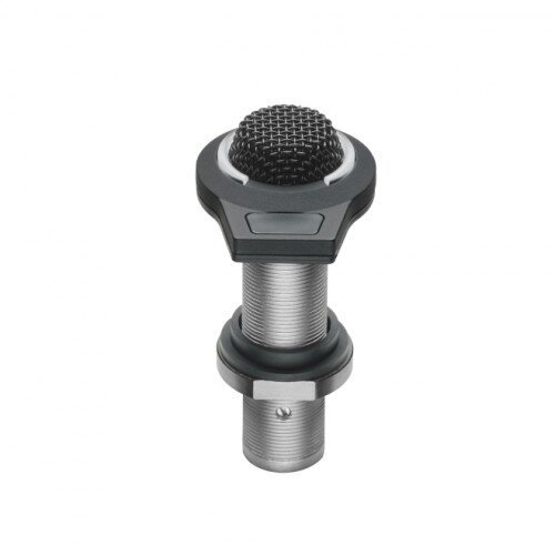 Audio-Technica ES945/LED Omnidirectional Condenser Boundary Microphone with Mute Switch and LED Indicator - Black