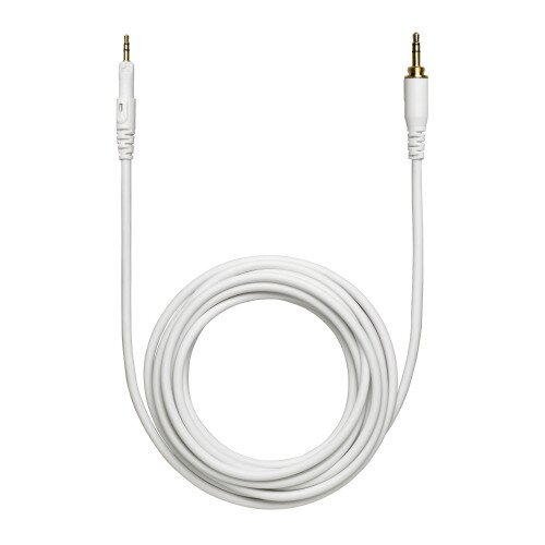 Audio-Technica HP-LC Replacement Cable for M-Series Headphones - White