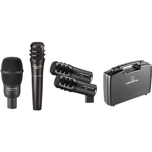 Audio-Technica PRO-DRUM4 Drum Mic Pack