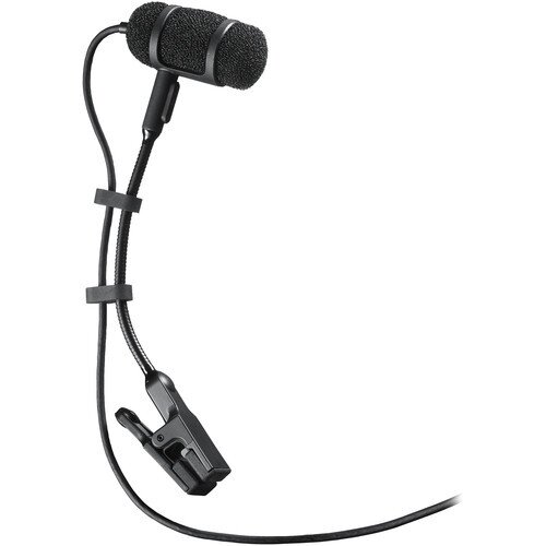 Audio-Technica PRO 35 Cardioid Condenser Clip-on Instrument Microphone