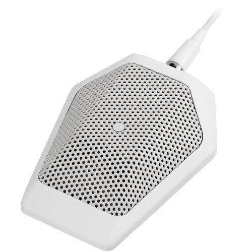 Audio-Technica U851Rb Cardioid Condenser Boundary Microphone - White