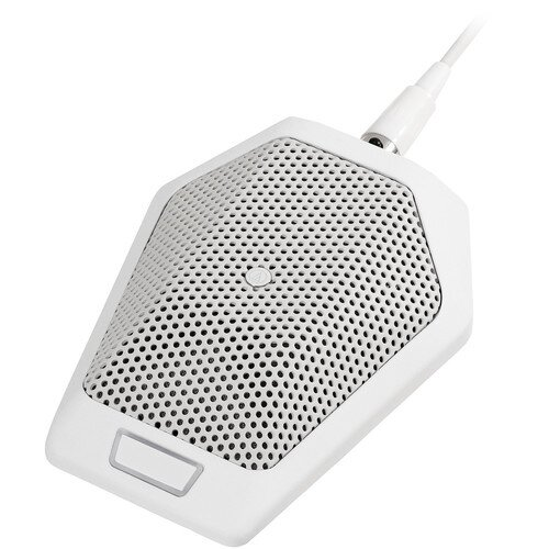 Audio-Technica U891Rb Cardioid Condenser Boundary Microphone with Switch - White