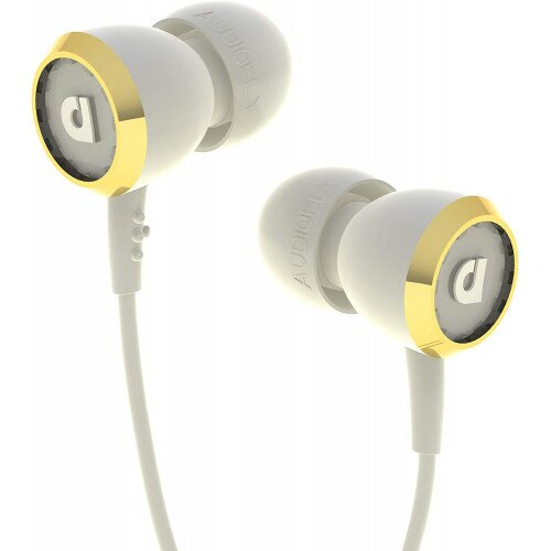 Audiofly AF33 Earbud Headphones - Corset White