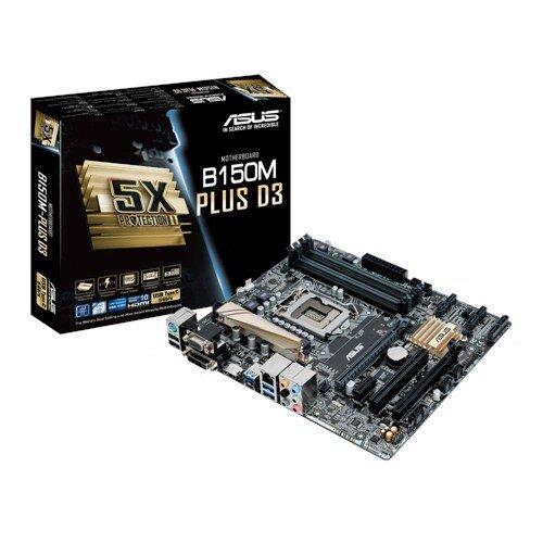 ASUS B150M-Plus D3 Motherboard